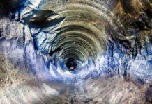 foto ilustrativa do poço superprofundo de kola